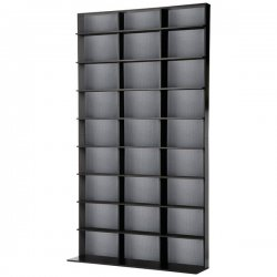 Atlantic - 3543-5725 - Elite837 Media Tower-blk/silver Holds 837cds 531dvds 630blu-rays