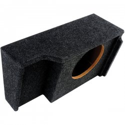 Atrend - A151-10CP - Atrend(R) A151-10CP BBox Series Subwoofer Box for GM(R) Vehicles (10 Single Downfire, GM(R) Ext Cab)