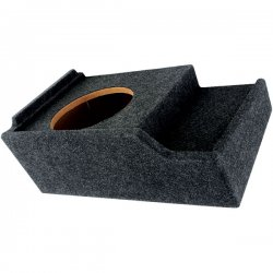 Atrend - A151-12CP - Atrend(R) A151-12CP BBox Series Subwoofer Box for GM(R) Vehicles (12 Single Downfire)