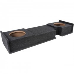 Atrend - A302-10CP - Atrend(R) A302-10CP BBox Series 10 Subwoofer Box for Ford(R) Vehicles (Dual Downfire)