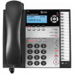 AT&T - 1040 - AT&T 1040 4-Line Expandable Corded Small Business Telephone - Corded - 4 x Phone Line