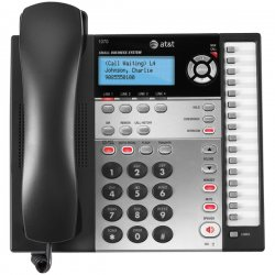 AT&T - 1070 - Att 4line Corded Speakerphone Dect 6.0 Hs Port 16 Stations Cid