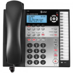 AT&T - 1080 - AT&T 1080 4-Line Expandable Corded Small Business Telephone with Digital Answering System - Corded - 4 x Phone Line
