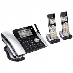 AT&T - ATTCL84215 - Corded/cordless Itad 2 Handsets Dual Cid Id 2hs