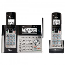 AT&T / VTech - TL96273 - 2 Handset Connect to Cell with Answering