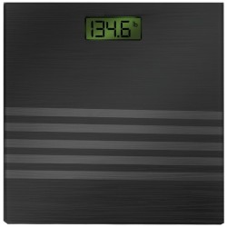 Bally Total Fitness - BLS-7301 BLACK - Bally Total Fitness(R) BLS-7301 BLACK Digital Scale (Black)