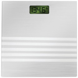 Bally Total Fitness - BLS-7301 SILVER - Bally Total Fitness(R) BLS-7301 SILVER Digital Scale (Silver)