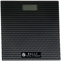 Bally Total Fitness - BLS-7302 BLK - Bally Total Fitness(R) BLS-7302 BLK Digital Bathroom Scale (Black)