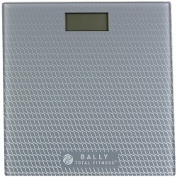 Bally Total Fitness - BLS-7302 GRY - Bally Total Fitness(R) BLS-7302 GRY Digital Bathroom Scale (Gray)