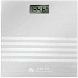 Bally Total Fitness - BLS-7305-SIL - Bally Total Fitness(R) BLS-7305-SIL Digital Bath Scale (Silver)