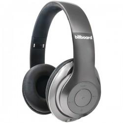 Billboard - BB485 - Billboard BB485 Over-Ear Bluetooth(R) Foldable Headphones with Microphone (Silver)