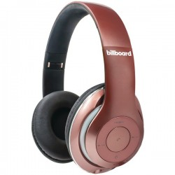 Billboard - BB486 - Billboard BB486 Over-Ear Bluetooth(R) Foldable Headphones with Microphone (Rose Gold)