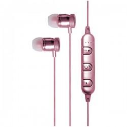 Billboard - BB488 - Billboard BB488 Bluetooth(R) Metal Earbuds with Microphone (Rose Gold)