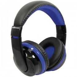 Billboard - BB490 - Billboard BB490 Bluetooth(R) Over-Ear Foldable Headphones with Microphone (Blue)
