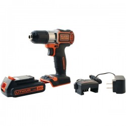 Black & Decker - BDCDE120C - BLACK+DECKER(TM) BDCDE120C 20-Volt MAX* Lithium Drill/Driver with AutoSense(TM) Technology