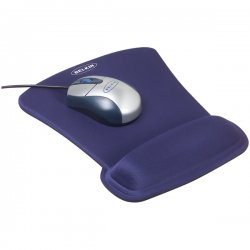 Belkin / Linksys - F8E262-BLU - Belkin WaveRest Series Gel Mouse Pad - Blue
