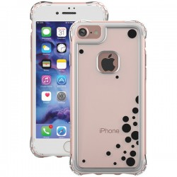 Ballistic Case - JE1738-B48N - Jewel Essence Case iPhone 7 Dancing Bubbles Black