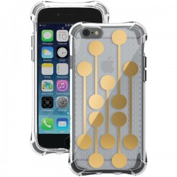 Ballistic Case - JM3345-B16N - Jewel Mirage Case iPhone 6/6S Clear/Gold