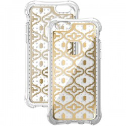 Ballistic Case - JM3345-B18N - Jewel Mirage Case iPhone 6/6S Clear/Gold
