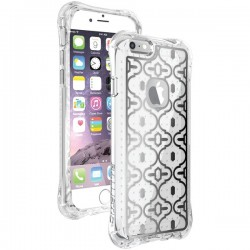Ballistic Case - JM3345-B19N - Jewel Mirage Case iPhone 6/6S Clear/Silver