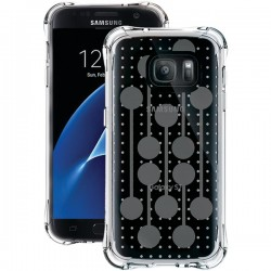Ballistic Case - JM4091-B17N - Jewel Mirage Case Galaxy S7 Clear/Silver