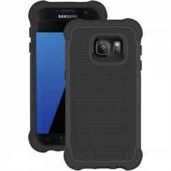 Ballistic Case - TJ1681-A06N - Tough Jacket Case Samsung Galaxy S7 in Black/Black