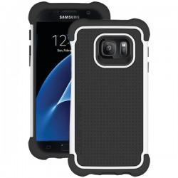 Ballistic Case - TJ1681-A08N - Tough Jacket for Samsung Galaxy S7 Black/White