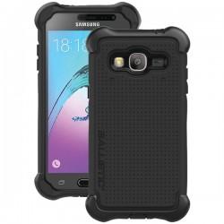 Ballistic Case - TJ1708-A08N - Tough Case for Samsung J3 in White/Black