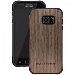 Ballistic Case - UT1688-B20N - Urbanite Select Case for Samsung GS7 Dark Ash wood