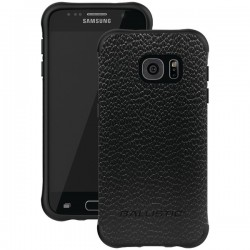 Ballistic Case - UT1688-B22N - Urbanite Select Case Samsung GS7 Black Leather