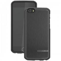 Body Glove - 9446102 - Body Glove Satin iPhone 6 - iPhone 6 - Black - Textured - Satin, Brushed Aluminum, High Gloss