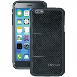 Body Glove - 9459902 - Body Glove Rise iPhone 6 Plus - iPhone - Black - Raised Ridge Pattern - Brushed Metal - Gel