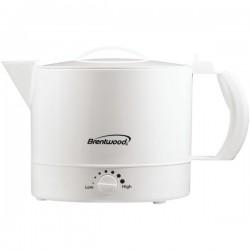 Brentwood Appliances - KT-32W - Brentwood Appliances KT-32W 32-Ounce Plastic Hot Pot
