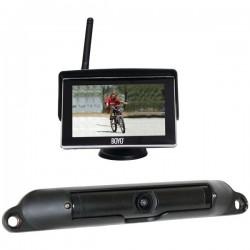 Boyo - VTC424R - BOYO Vision VTC424R Wi-Fi(R) High-Resolution Rearview Camera System with 4.3 LCD Monitor