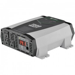 Cobra Electronics - CPI1590 - Cobra Professional 1500 Watt Power Inverter - Input Voltage: 12 V DC - Output Voltage: 5 V DC, 115 V AC - Continuous Power: 1500 W