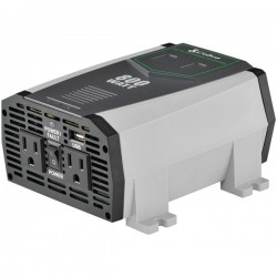 Cobra Electronics - CPI890 - Cobra Compact 800 Watt Power Inverter - Input Voltage: 12 V DC - Output Voltage: 120 V AC - Continuous Power: 800 W