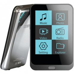 Coby - MP8234G - 4GB MP3 Player with 2.0 Touch Screen & Video
