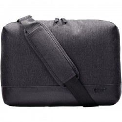 Cocoon Innovations - CLC3450CH - Cocoon Carrying Case (Briefcase) for 13, Notebook, MacBook - Charcoal - Water Resistant - Shoulder Strap, Hand Strap - 10.8 Height x 14.5 Width x 2.5 Depth