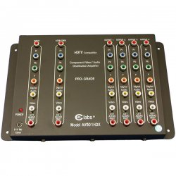 CE Labs / Cable Electronics - AV501HDX - 1x5 HDTV /Component w/ Digital Audio AV Distribution Amp