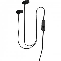Cellular Innovations - IP-HF1-BK - Cellular-Innovations(R) IP-HF1-BK Stereo Hands-Free Earbuds with Microphone(Black)