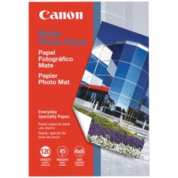 Canon - 7981A014AA - Canon Mp 101 Paper - Matte Photo Paper - 4 In X 6 In - 170 G/m2 - 120 Pcs.