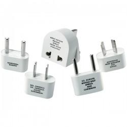 Conair - M500ENR - Travel Smart Adapter Plug Set - For Worldwide Use - 120 V AC, 230 V AC