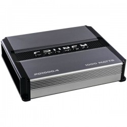 Maxxsonics - PD 1000.4 - Crunch(R) PD 1000.4 POWER DRIVE 4-Channel Pro Power Bridgeable Class AB Amp (1, 000 Watts max)