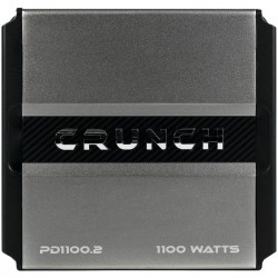 Maxxsonics - PD 1100.2 - Crunch(R) PD 1100.2 POWER DRIVE 2-Channel Bridgeable Class AB Amp (1, 100 Watts max)