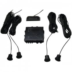 Crime Stopper - CA-5010.II.MBS - CrimeStopper(TM) CA-5010.II.MBS Parking-Sensor System with Top Display (With Metal Bumpers)