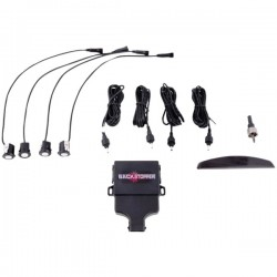 Crime Stopper - CA5014MATT2 - Rear Parking Assist System with Buzzer & LED Display