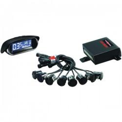Crime Stopper - CA5020MATT2 - Premium Front & Rear Park Assist with LED Display 8 Matt Sensors