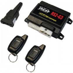 Crime Stopper - RS2-G3 - Crimestopper RS2-G3 2-way 1-Button Remote Start - 2-way - 2 x Transmitters - 2500 ft