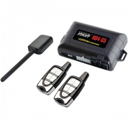 Crime Stopper - RS4-G5 - Crimestopper RS4-G5 Remote Start and Keyless Entry with Trunk Release - 1-way - 2 x Transmitters - 2000 ft