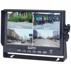 Crime Stopper - SV-8900.QM.II - Crimestopper SV-8900.QM.II 7 LCD Car Display - Black - 1440 x 234 Integrated